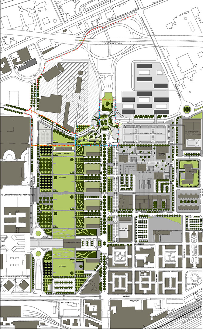 Completion of Naples business district – Planning