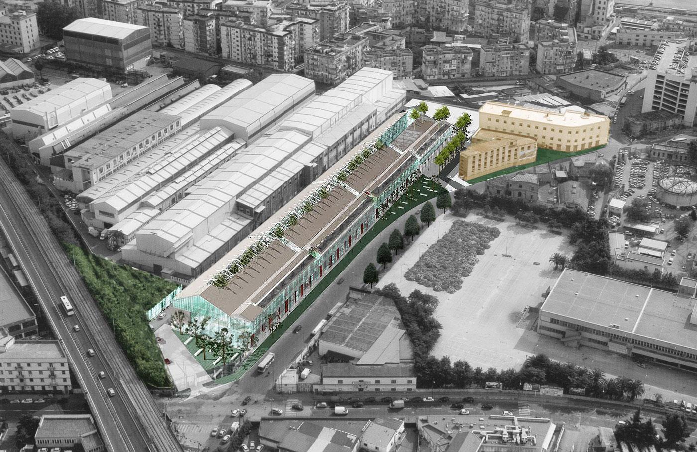 industrial building via brin