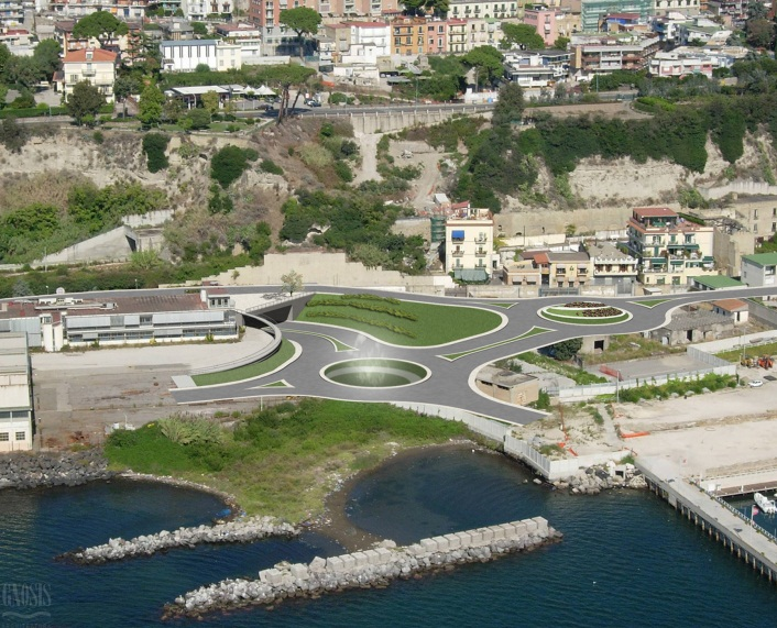 Tunnel link between Pozzuoli port and Naples