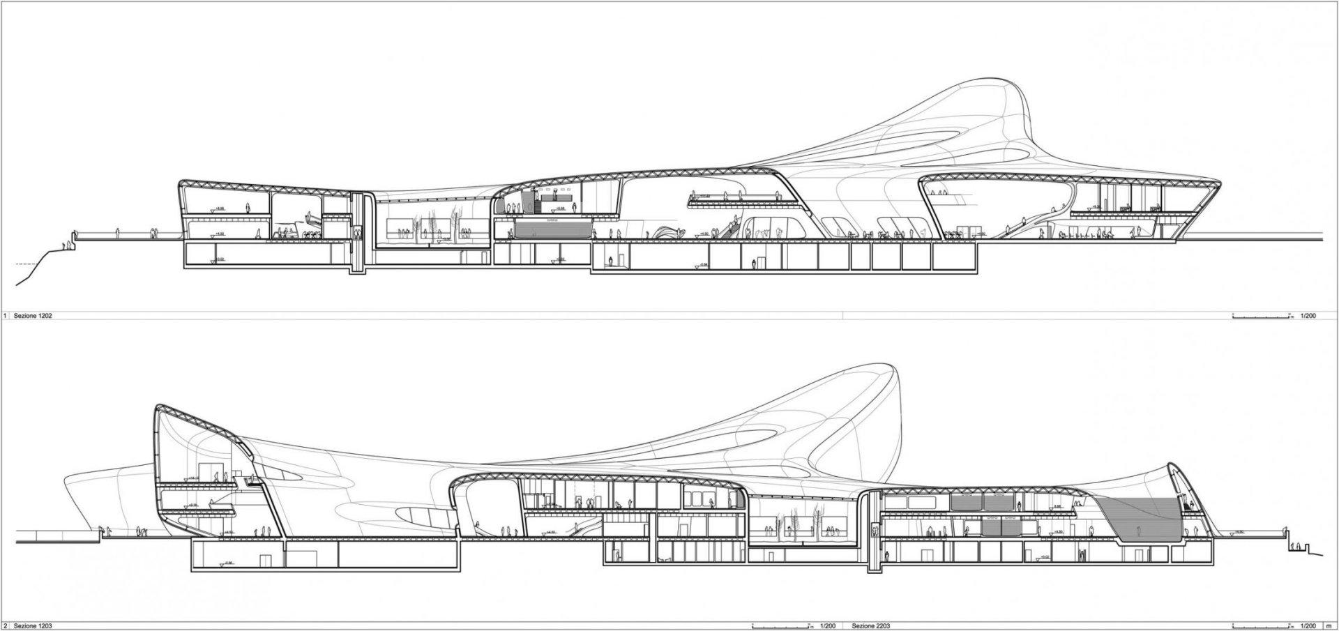 Guggenheim Museum Bilbao Floor Plan Regium Waterfront Reggio Calabria