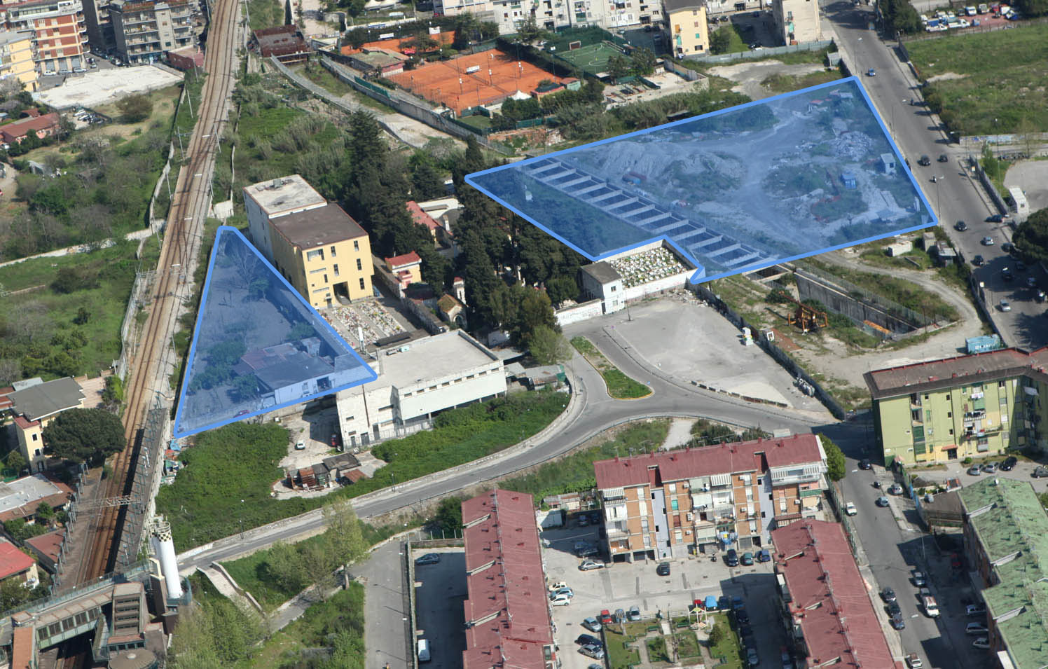 Naples Municipality – Project financing of Barra, Pianura and Soccavo cemeteries